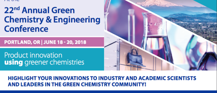 The 22nd Annual Green Engineering Conference in Portland, OR