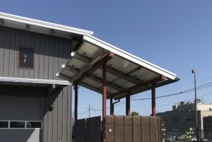 Solar RainFrame builds solar structures across the U.S.